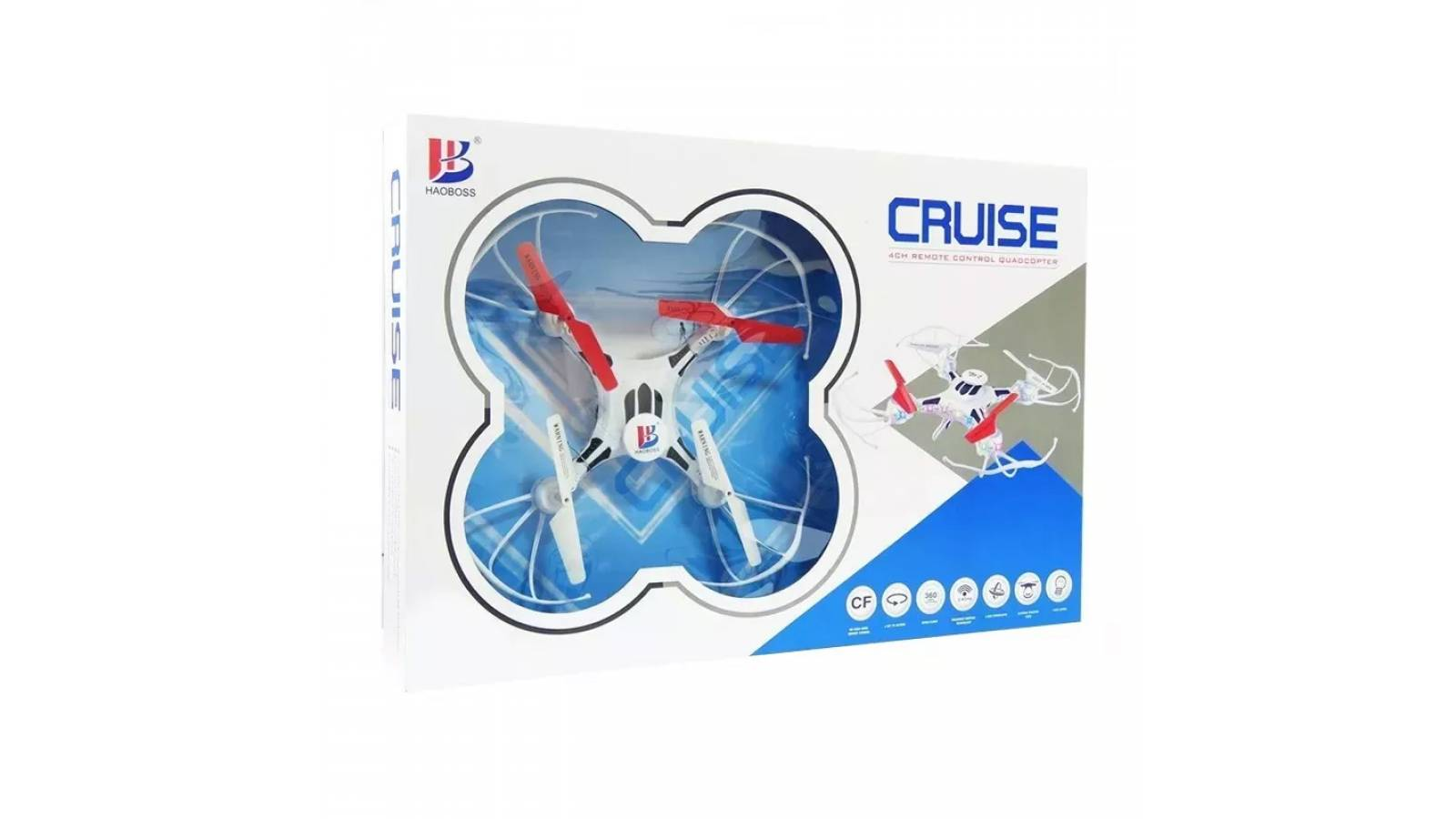 Drone Quadracopter LEDSTAR  8979