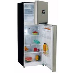 Heladera con freezer JAMES J302 Ms Plata y Negro