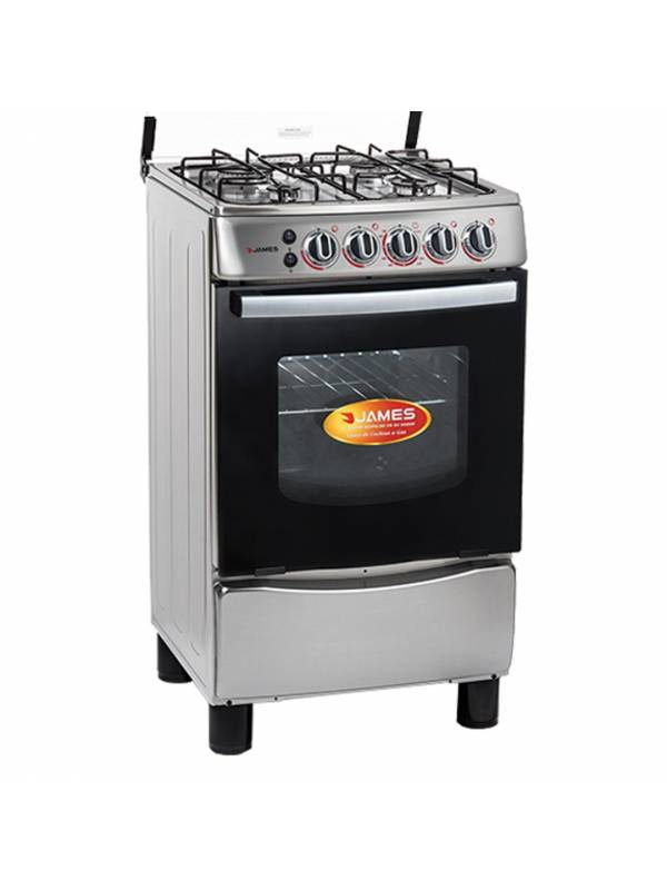 Cocina a Gas James Inoxidable C-655 MI